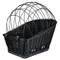 Pasja košara za kolo z rešetkami 35 × 49 × 55 cm