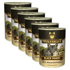 Konzerva WOLFSBLUT Black Marsh PURE, 6 x 395 g