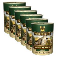 Konzerva  WOLFSBLUT Hunters Pride, 6 x 395 g