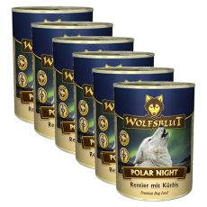 Konzerva WOLFSBLUT Polar Night, 6 x 395 g