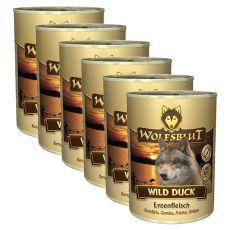 Konzerva WOLFSBLUT Wild Duck, 6 x 395 g