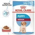 Vrečka Royal Canin Medium Puppy 140 g