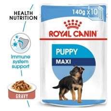 Vrečka Royal Canin Maxi Puppy 140 g