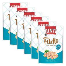 Vrečka hrane RINTI Filetto piščanec + losos, 6 x 100 g