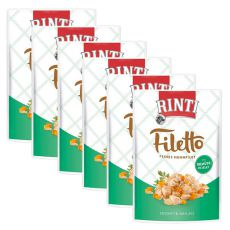 Vrečka hrane RINTI Filetto piščanec + zelenjava, 6 x 100 g