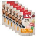 Vrečka hrane RINTI Leichte Beute govedina + piščanec, 6 x 400 g