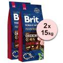 Brit Premium by Nature Senior Large in Extra Large 2 x 15 kg
