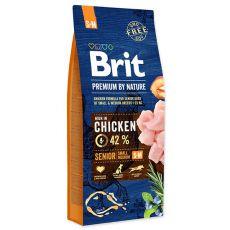 Brit Premium by Nature Senior Small in Medium 15 kg
