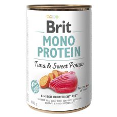 Konzerva Brit Mono Protein Tuna & Sweet Potato, 400 g