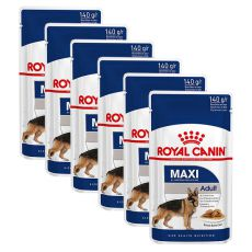 Vrečka Royal Canin Maxi Adult 6 x 140 g