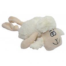 Piskajoča bela ovca iz pliša, 35 cm