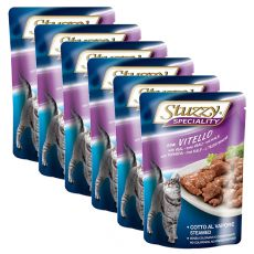 Stuzzy Speciality Cat – teletina, 6 x 100 g