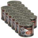 Mokra hrana za mačke Leonardo - jetra 12 x 200g