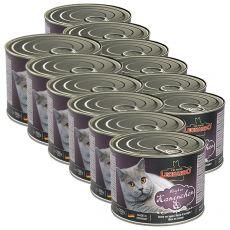 Mokra hrana za mačke Leonardo - zajec 12 x 200g