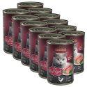 Mokra hrana za mačke Leonardo - perutnina 12 x 400g