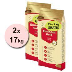 EMINENT GOLD Adult 2 x 15 kg + 4 kg BREZPLAČNO