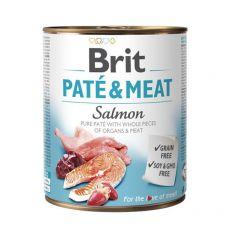 Konzerva Brit Paté & Meat Salmon, 800 g