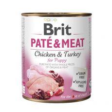 Konzerva Brit Paté & Meat PUPPY, 800 g