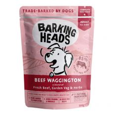 BARKING HEADS Beef Waggington GRAIN FREE 300 g