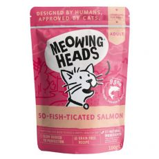 MEOWING HEADS So Fish Ticated Salmon GRAIN FREE 100 g