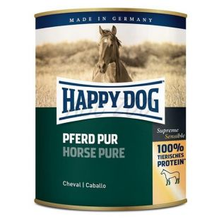 Happy Dog Pur - Pferd 800 g / konj