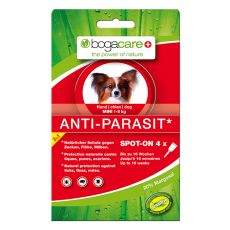 Kapljice proti zajedalcem BOGACARE Anti Parasit Spot-On MINI, 4 kosi