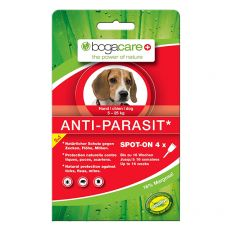 Kapljice proti zajedalcem BOGACARE Anti Parasit Spot-On MEDIUM, 4 kosi
