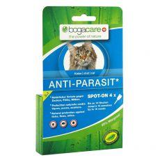 Kapljice proti zajedalcem BOGACARE Anti Parasit Spot-On CAT, 4 kosi