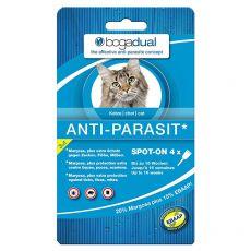 Kapljice proti zajedalcem za mačke BOGADUAL Spot-On 4 x 0,75 ml