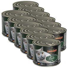 Konzerva mačje hrane Leonardo, raca 12 x 200 g