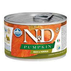 Konzerva Farmina N&D dog Duck & Pumpkin 140 g