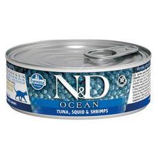 Farmina N&D cat tuna, squid & shrimp can 80 g