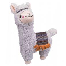 Plišasta igrača za psa – alpaka, 31 cm