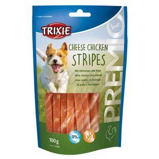 Trixie PREMIO Cheese Chicken Stripes, piščanec in sir 100 g