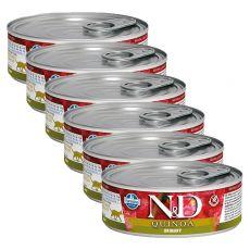 Konzerva Farmina N&D cat Quinoa Urinary 6 x 80 g