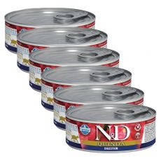 Konzerva Farmina N&D cat Quinoa Digestion 6 x 80 g