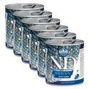 Konzerva Farmina N&D dog Trout & Salmon 6 x 285 g, 5+1 GRATIS