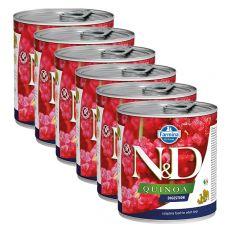 Konzerva Farmina N&D dog Quinoa Digestion 6 x 285 g, 5+1 GRATIS