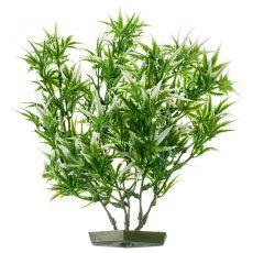 Plastična rastlina za akvarij - nazobčani listi, 28 cm