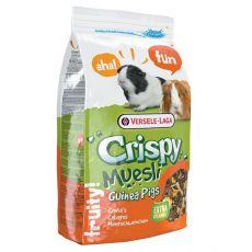 Crispsy Muesli 1 kg - hrana za morske prašičke