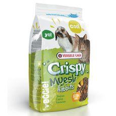 Crispy Muesli Rabbits 1 kg - hrana za zajce