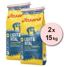 JOSERA Light & Vital Adult 2 x 15 kg