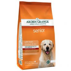 ARDEN GRANGE Senior with fresh chicken & rice 2 kg