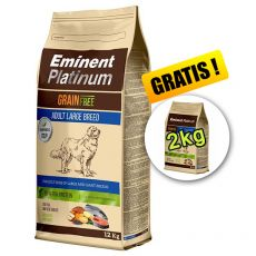 EMINENT Platinum Adult Large Breed 12 kg + 2 kg GRATIS