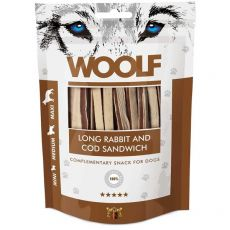 WOOLF Long Rabbit and Cod Sandwich 100g