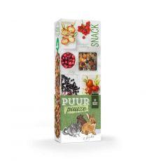 PUUR PAUZE sticks Forest Fruit – palčke z gozdnimi sadeži za glodalce, 2 kosa