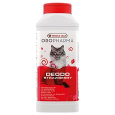 Deodo Strawberry – deodorant za mačje stranišče 750 g
