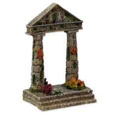 Akvarijski okras, ruševine katedrale 9,5 x 7 x 15 cm