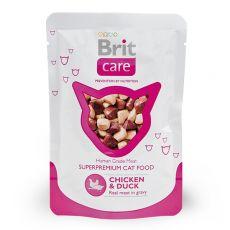 Vrečka Brit Care Cat Chicken & Duck 80 g