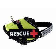 Pasja oprsnica Rescue XS 30 - 40 cm, zelena